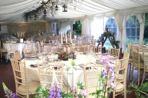 Cameo Event Hire - marquee interiors