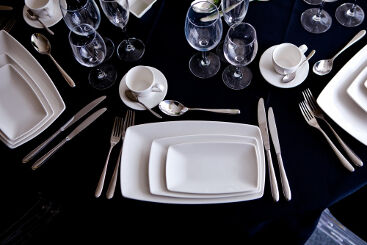 white-rectangle-crockery-to-hire (5)