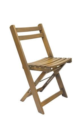 Folding Wooden GRETA Chair - Antique Wash